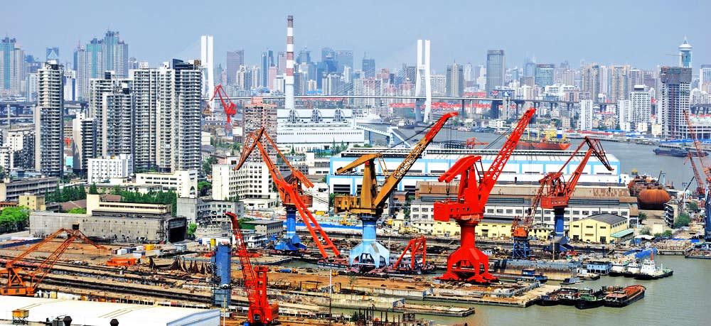 Construction in Shanghai