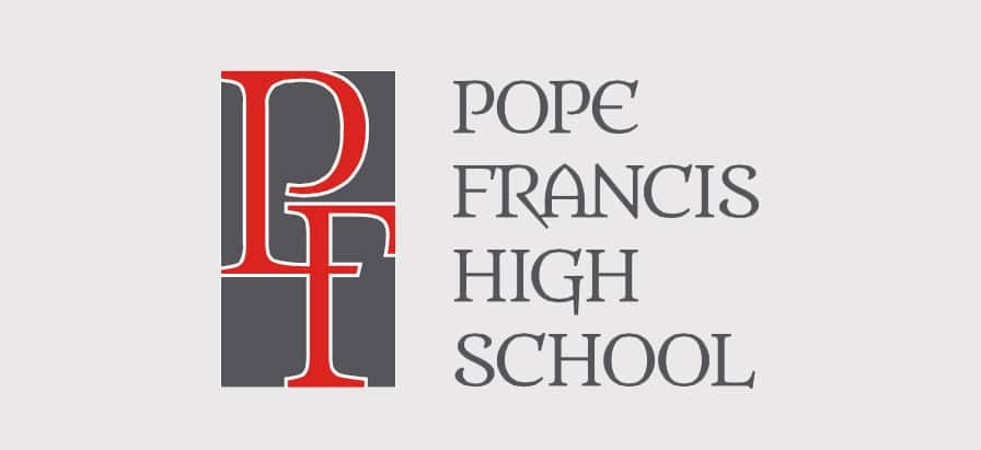Pope Francis High School Logo