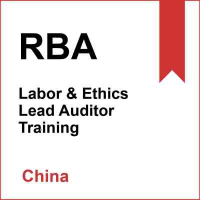 RBA Training in China