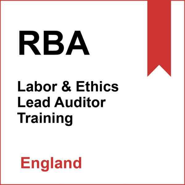 RBA Training in England