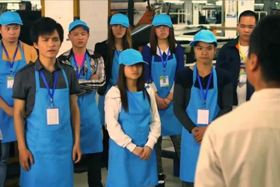 Online Training for Chinese Factory Workers