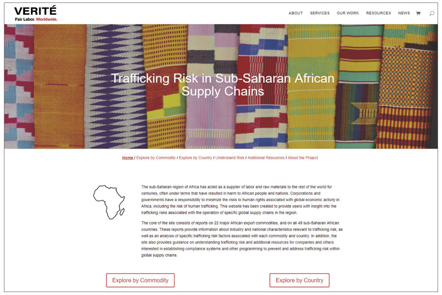 Sub-Saharan Africa Website
