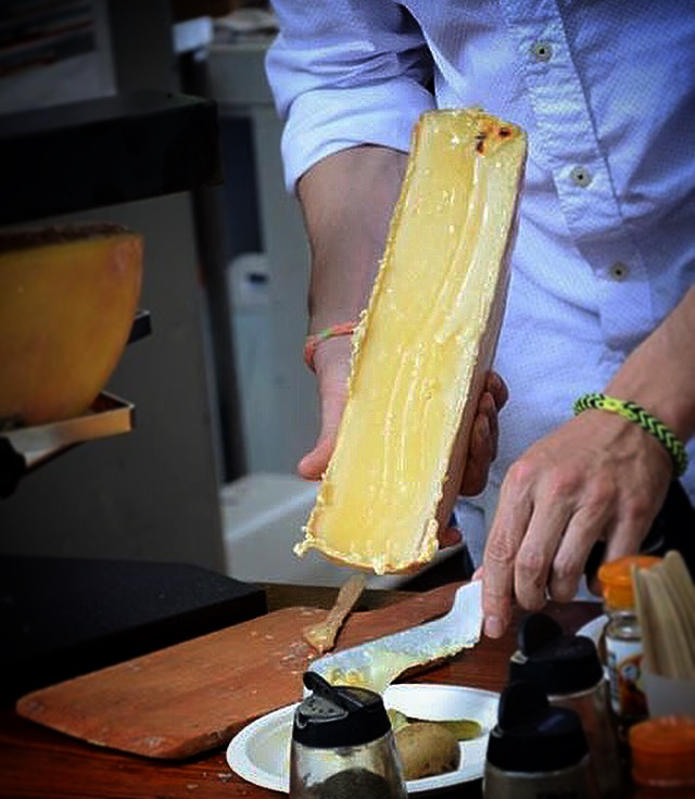 Travellers 10 Questions tickereatstheworld raclette cheese