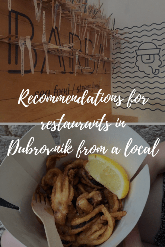 Recommendations for restaurants in Dubrovnik from a local. - Veritru - Why waste your money guessing what restaurants to go to? Get recommendations for restaurants in Dubrovnik from a local on the best places to eat.