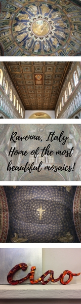 Ravenna, Italy - Home of the most beautiful mosaics! Ravenna is best known for it's range of beautiful mosaics of which there are many! Here's my route to view the best monuments in Ravenna including Basilica di Sant'Apollinare Nuovo, Battistero Neoniano, Mausoleo di Galla Placidia, Archiepiscopal Museum, Battistero degli Ariani, Basilica di San Vitale and Dante's Tomb. - Veritru
