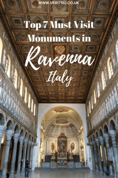 Ravenna, Italy - Home of the most beautiful mosaics! Top 7 Must Visit Monuments in Ravenna is best known for it's range of beautiful mosaics of which there are many! Here's my route to view the best monuments in Ravenna including Basilica diSant'Apollinare Nuovo, Battistero Neoniano, Mausoleo di Galla Placidia, Archiepiscopal Museum, Battistero degli Ariani, Basilica di San Vitale and Dante's Tomb. - Veritru
