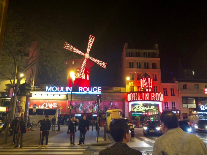 Moulin Rouge at Night - Montmartre, Paris - Veritru