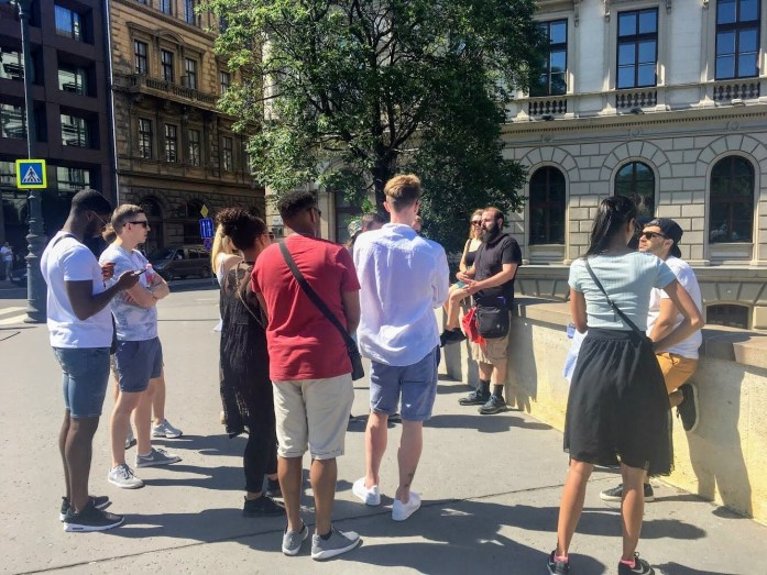 Walking Tour Budapest - The Best Joint Hen/Stag Do in Budapest - Veritru - Chain Bridge