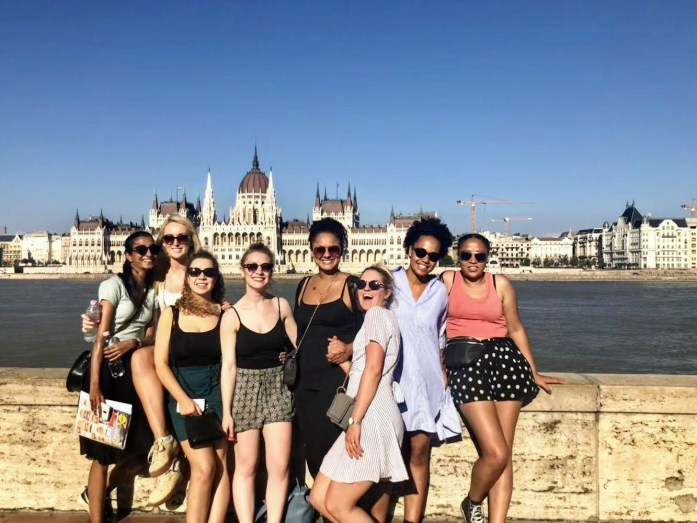 Girl Gang - Walking Tour Budapest - The Best Joint Hen/Stag Do in Budapest - Veritru - Fisherman's Bastion