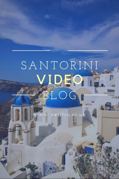 Sometimes pictures just don't quite do it justice, so here's our 3 1/2 days on the beautiful Greek island Santorini in video form! We stayed in a cave apartment in the village of Oia in the North of the island with it's iconic blue domes and white buildings, tiny streets and sunsets that people wait for over 2 hours to watch. Santorini, Greece, Europe - Video Blog - Veritru