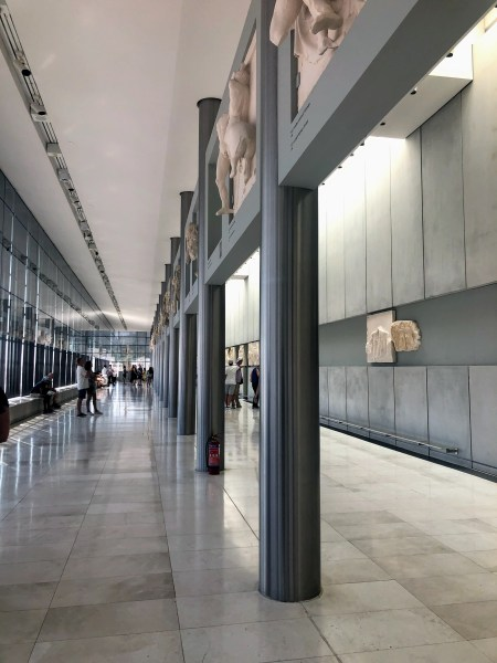 Acropolis Museum - Athens, Greece, Europe - Honeymoon Part 1 - Athens is a beautiful capital city rich with history. With it's impressive Acropolis and quaint pedestrian streets, we headed here for our Honeymoon Part 1! Veritru Travel Blog