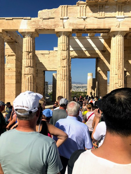 Acropolis of Athens- Acropolis of Athens - Athens, Greece, Europe - Honeymoon Part 1 - Athens is a beautiful capital city rich with history. With it's impressive Acropolis and quaint pedestrian streets, we headed here for our Honeymoon Part 1! Veritru Travel Blog