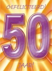 Verjaardagswensen 50 jaar