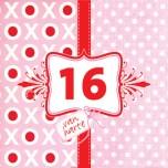 Sweet 16 verjaardagswensen