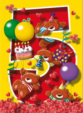 Verjaardagswensen 5 Jaar Gefeliciteerd Met Je 5e Verjaardag Teksten