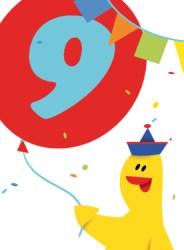 Verjaardagswensen 9 jaar