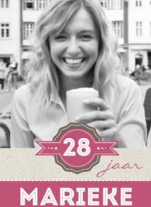 Verjaardagskaart voor een vrouw