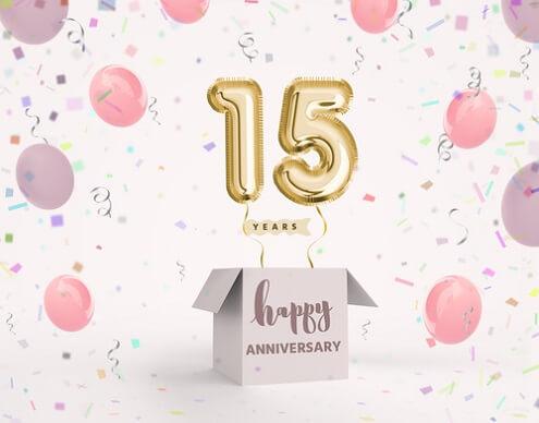 Gefeliciteerd 15 Jaar 15 Jaar Verjaardagswensen Teksten En