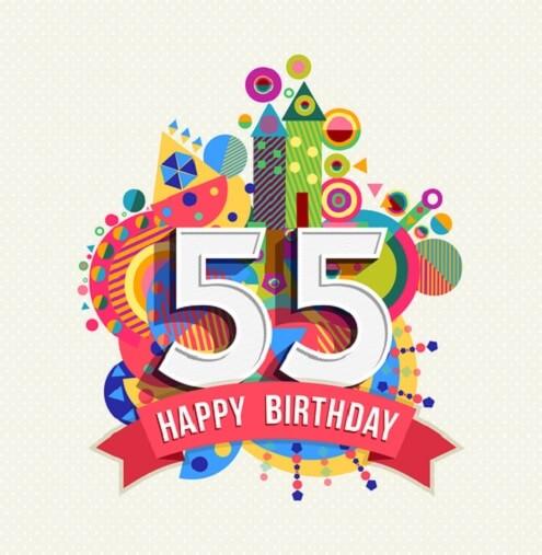 Goede 55 jaar verjaardagswensen. De mooiste verjaardagswensen en teksten. IT-45