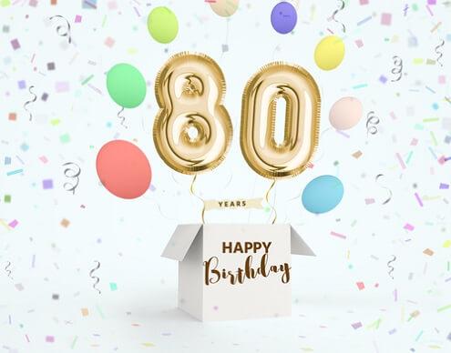 Verjaardagswensen 80 Jaar Teksten Voor Felicitatie