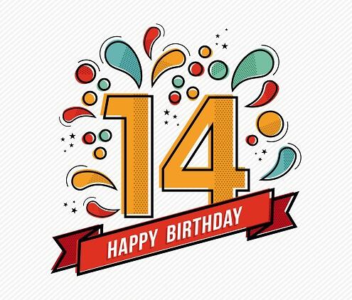 Verjaardag 14 Jaar