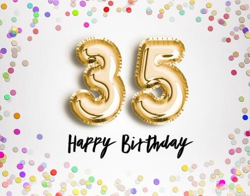 Verjaardagswensen 35 Jaar Persoonlijke Wensen Teksten En