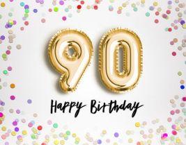 Verjaardag 90 jaar