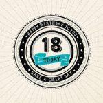 Verjaardagswensen 18 jaar