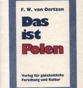 Friedrich Wilhelm von Oertzen: Das ist Polen