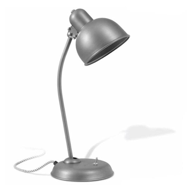 Ebolicht bureaulamp Dusseldorf staal mat lak - Verlichting van Toen