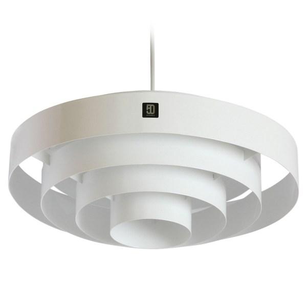 Ebolicht hanglamp Circular wit - Verlichting van Toen