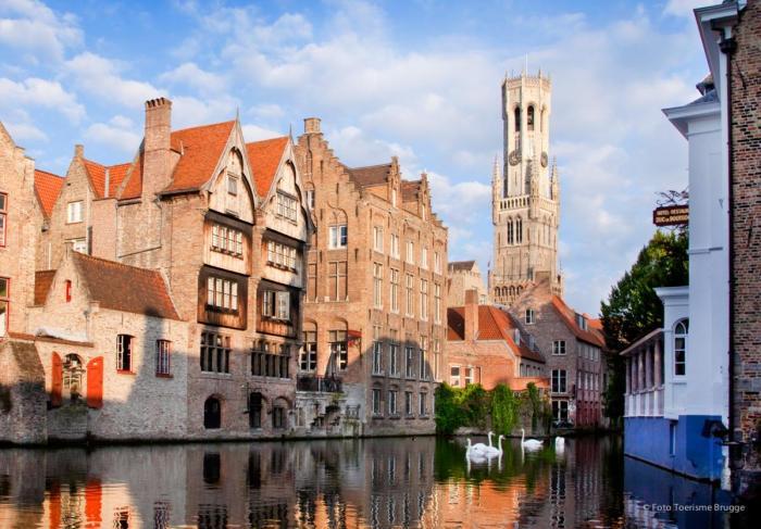 werk-trip Brugge Belgie - Verlichting van Toen