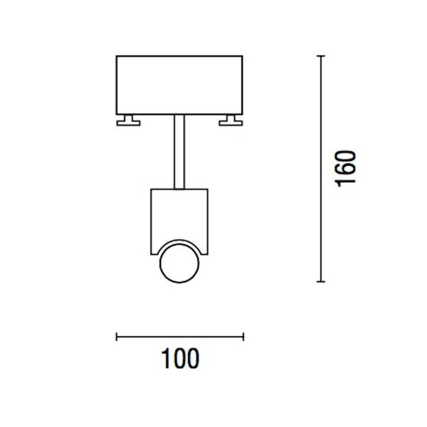 Ebolicht designlamp Bar 160 - Verlichting van Toen