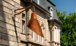 Nostalgie Hamburg industriele wandlamp - Verlichting van Toen