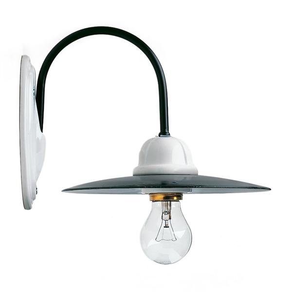Bussum wandlamp RAL 9005 zwart - Verlichting van Toen