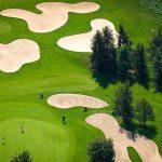 Vermietung Landgut Duvenhof Golfplatz