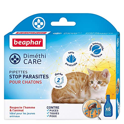 Beaphar Pipettes Stop Parasites pour Chat