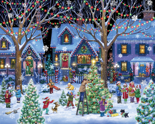 Christmas Cheer Jigsaw Puzzle New Jigsaw Puzzles Vermont