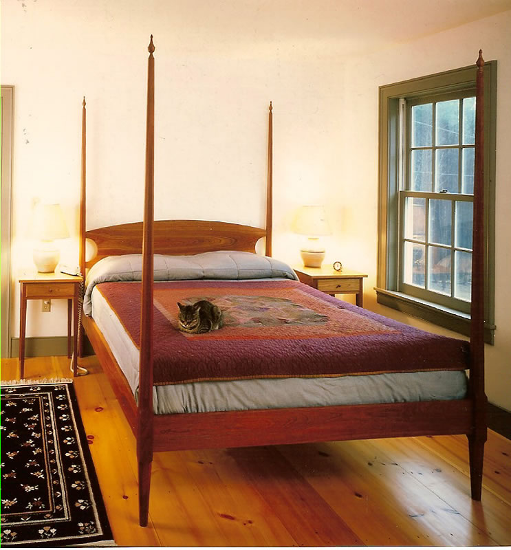 Pencil Post Bed Richard Bissell Fine Woodworking