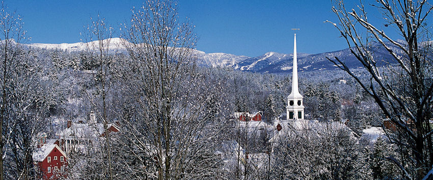 Image result for stowe vermont winter