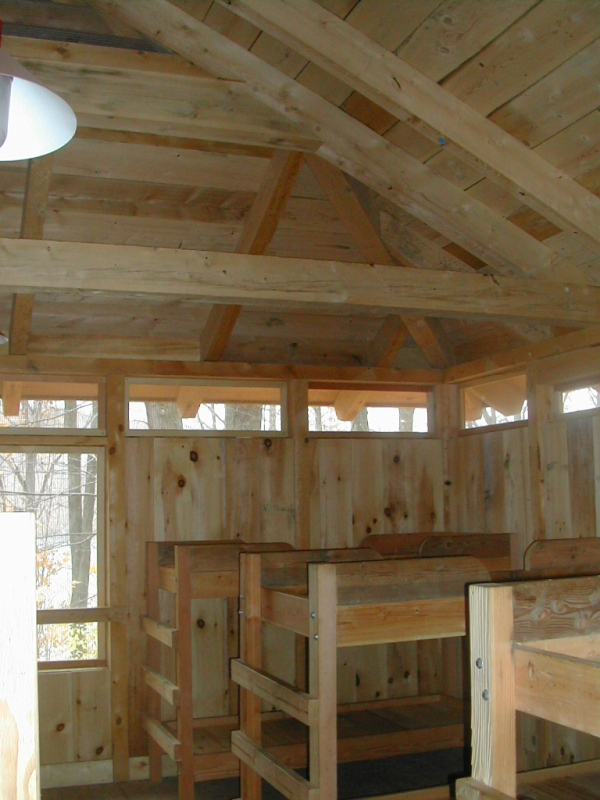 Barn Simple Homes Beam Post And