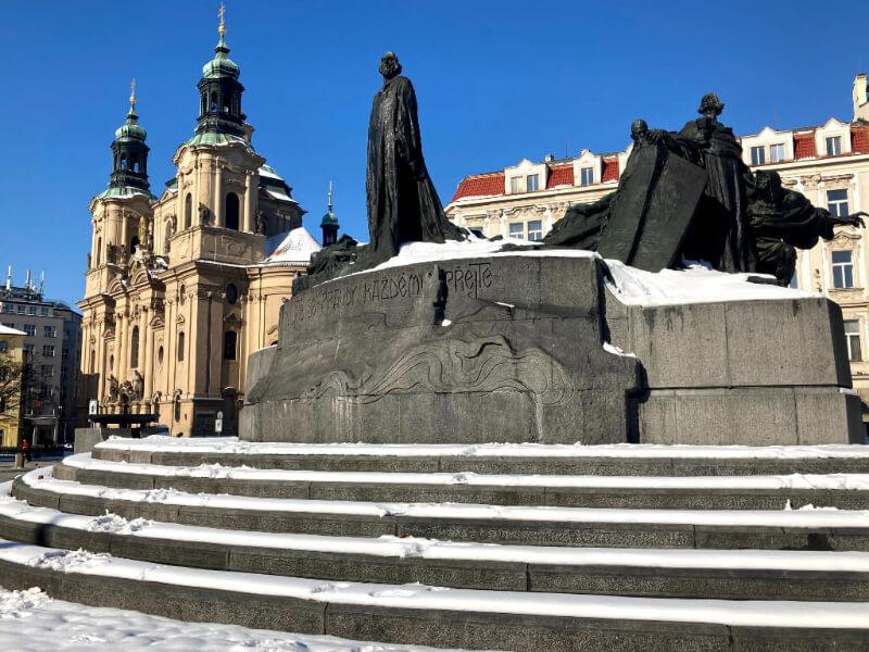 Winter Prague – sights under the snow