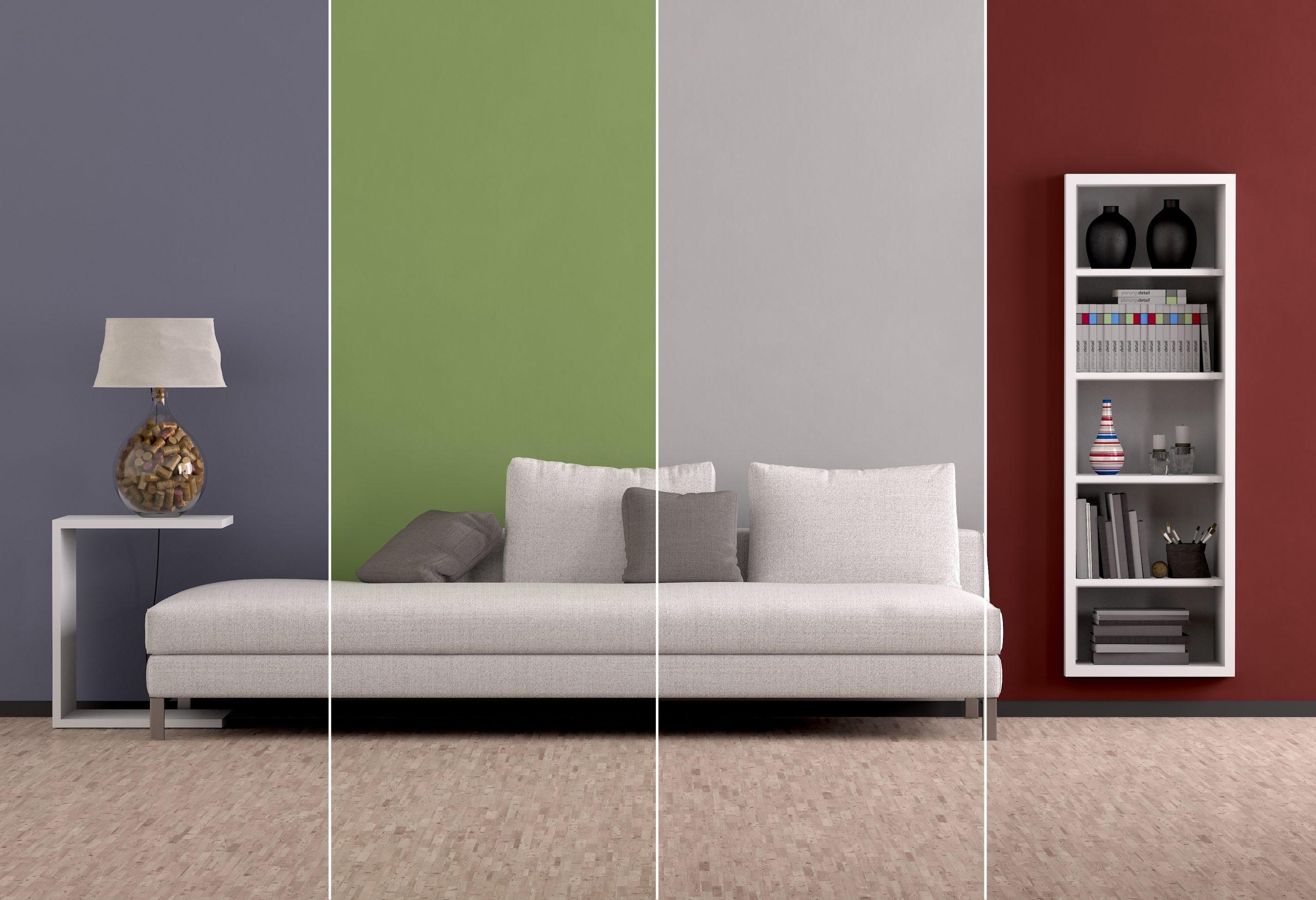 """Il verde ha il suo """"perchè"""", se coniugato. Come Ingrandire Una Stanza Con I Colori"""