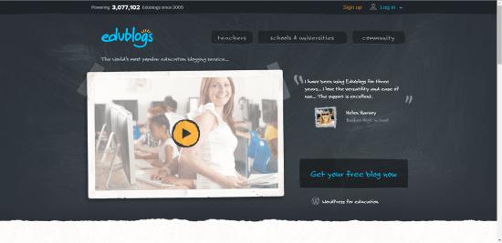 digitaal portfolio edublog