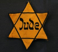 Een Duitse jodenster (Jüdisches Museum Westfalen te Dorsten, foto: Daniel Ullrich, CC-BY-SA-2.0)