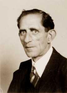 De diamantbewerker Hartog Hartog (1887-1943) (Digitaal Monument Joodse Gemeenschap)