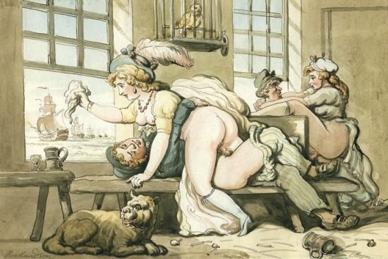 Thomas Rowlandson (1756-1827): Goodbye