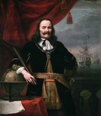 Michiel de Ruyter door Ferdinand Bol in 1667