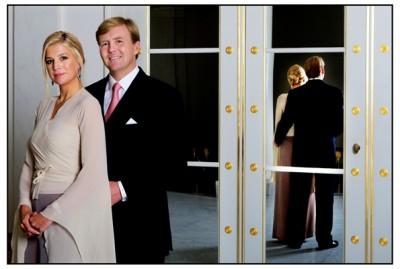 Prins Willem-Alexander en prinses Máxima in 2008 (foto RVD)