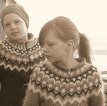 Twee IJslandse meisjes (foto Salvor Gissurardottir CC BY-SA 2.5)